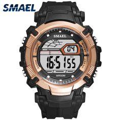 Children's Watches New Colorful Children Boys Girls Watches Sports Digital Clocks Swimming Waterproof Wrist Watch New F30