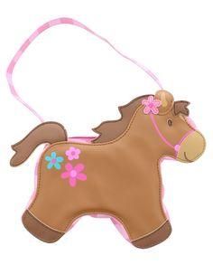 Christmas gift idea under $20 - Stocking Stuffer - Stephen Joseph Toddler's Horse Go Go Purse #stockingstuffer #giftideas #christmasgiftideas gifts under 20 dollars