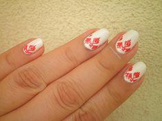 #notd #nailart #barkingblondie #bbloggers #nailstamping #naillacquer #hungarian