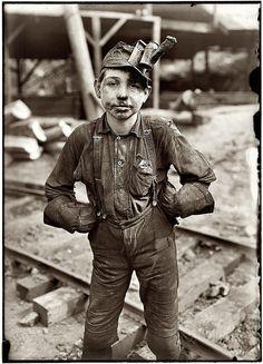 A coal miner child