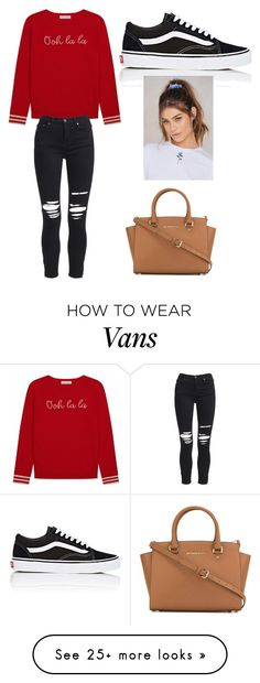 """""""BadAsk"""" by mikayla71206 on Polyvore featuring AMIRI, Vans, NA-KD and MICHAEL Michael Kors"""