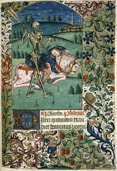 monkey picking strawberries Book of Hours, Bayeux...