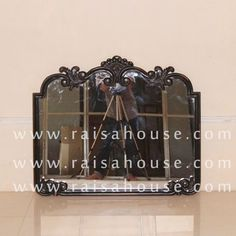 Mirror To Match The Carving Bedhead - Raisa House Indonesia Mahogany Furniture, Living Furniture, French Mirror, Carving, Bed Head, Furniture Factory, Mirror, Bedside Furniture, Bed Furniture Set