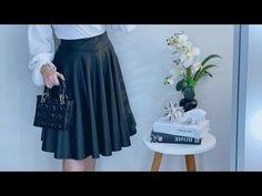 Waist Skirt, High Waisted Skirt, Dress Patterns, Ideias Fashion, Sewing, Crochet, Skirts, Dresses, Gorgeous Dress