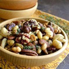 Jamaican Jerk Spiced Nuts