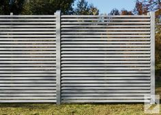 25 beautiful modern fence design ideas | fence design, backyard, Garten und Bauen