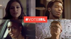 "Today, we're announcing YouTube's get out the vote campaign, #voteIRL, where together with the YouTube creator community, we're helping get young people to the polls. Even though people are clearly following the election online, we want to make sure they get involved ""in real life,"" too.   We believe in giving everyone a voice. So this U.S. elections season, we're committed to making sure that people--especially young people--use their voice by voting."