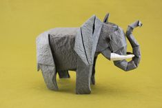 A pretty fantastic collection of origami elephants, many of which you can fold for the #ElephantOrigamiChallenge