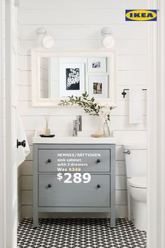 It's loo love! All bathroom furniture, including sinks and faucets is 15% off until October 30.