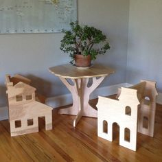 TABLE AND TWO HOUSE CHAIRS- sale pricing furniture set
