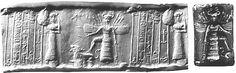 Winged Gods or Goddess Engraving