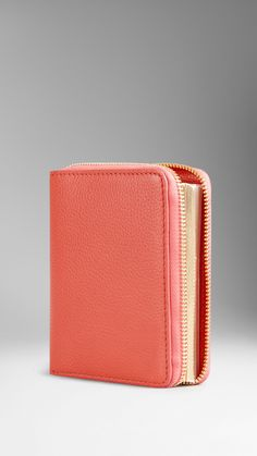 Grainy Leather-Covered A5 Notebook | Burberry
