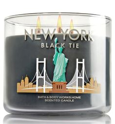Bath and Body Works New York Black Tie 3- Wick Scented Candle 14.5 Oz/411g) * Check this awesome product by going to the link at the image.