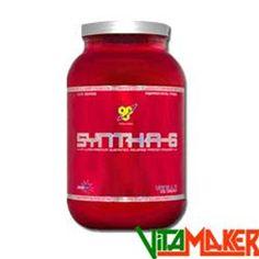 SYNTHA-6 2270g Vaniglia by BSN. Proteine a rapida e lenta assimilazione. A base di concentrato di proteine del siero di latte, isolato di proteine del siero di latte, caseinato di calcio, caseina micellare, isolato di proteine del latte, albume d'uovo, glutammina peptidica. #integratori #integratorialimentari #integratorisportivi #vitamaker #proteine #caseine #sierodellatte #sconto