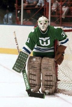 10 Best Vintage Hockey Goaltenders Images In 2014 Hockey Hockey