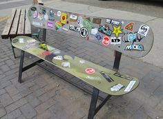 Snowboard Bench | Flickr - Photo Sharing!