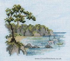 Headland - Minuets Cross Stitch Kit from Derwentwater Designs
