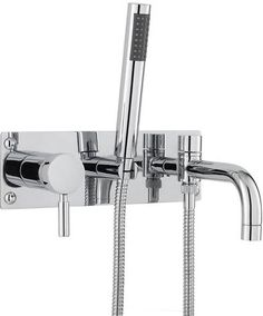 For inspiration on better bathrooms visit Designer Bathroom Concepts for designer bath shower mixer taps, mixer shower, designer bathroom taps, bath mixer taps with shower & bath mixer taps. Bath Shower Mixer Taps, Bathroom Taps, Tile Bathrooms, Shower Valve, Modern Bathroom, Wall Mounted Bath Taps, Shower Fittings, Hudson Reed, Basin Taps