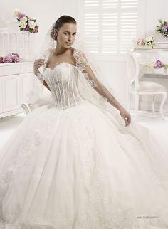 Collezione abiti da sposa #Colet 2013, abito da #sposa COAB13467IV