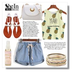 """SheIn 9. / VII"" by amra-sarajlic ❤ liked on Polyvore featuring Kendra Scott, Sheinside and shein"
