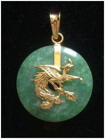 Dragon Jade Donat Origin China, D 30 mm - www.kn-jewellery.com
