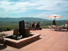 Tapteil winery veiw. This looks like a lovely place to relax and enjoy the view.