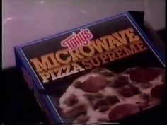"Tony's ad, 1987 Spot for the microwave pizza brand that's ""the pizza to fall in love with""."