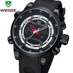 New WEIDE Relogio Masculino Outdoor Sport Watches For Men Quartz Digital Multimeter Luxury Brand Dive Watch 30 Meters Waterproof