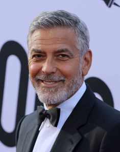 The Best Hairstyles For Men Over 50 2018 Edition All - Hair Styles Short Hairstyles For Older Men, Mens Grey Hairstyles, Vintage Hairstyles For Men, Older Men Haircuts, Haircuts For Balding Men, Hairstyles With Glasses, Hairstyles Over 50, Balding Hairstyles, George Clooney