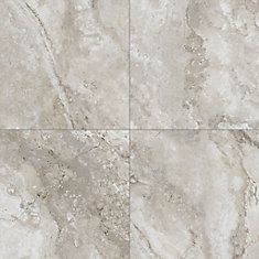 Digital High Definition Porcelain tiles with a natural travertine stone look with no maintenance requirements