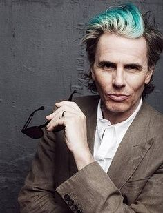 Portrait of Duran Duran bassist John Taylor, photographed in Sydney in March. I really don't understand what is going on with John and his hair as he ages. Roger Taylor, John Taylor, Kat Williams, Mint Hair, Simon Le Bon, Green To Blue, Amazing Songs, Duck Face, Still In Love