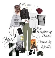 """""""Hope- daughter of hades, Blessed by Apollo"""" by dr-hopepotterwho on Polyvore featuring Kate Spade, Beats by Dr. Dre, H&M, River Island, MANGO, Soda, Forever 21, Torrid, Linda Farrow and Casetify"""