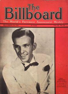 December 20, 1941 Billboard - Hal Leonard cover feature!