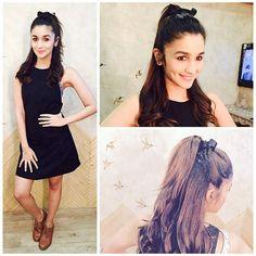 Latest Alia Bhatt Hair Style