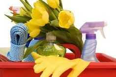 Greener Spring Cleaning As we prepare for the end of winter and the start of a fresh new spring, many of us begin to gear up for spring cleaning time.