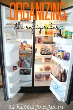 ORGANIZING the Refrigerator