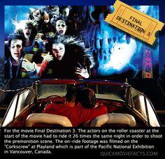 Final Destination 3 Movie Facts