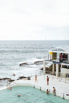 Bondi Beach Wedding from Scout and Charm  Read more - http://www.stylemepretty.com/australia-weddings/2013/07/25/bondi-beach-wedding-from-scout-and-charm/