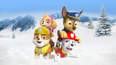Paw Patrol Chase Marshall Rubble and Skye Freeze by on DeviantArt Los Paw Patrol, Paw Patrol Pups, Marshall, Furry Art, Freeze, Cloverfield 2, Bowser, Pikachu, Fan Art