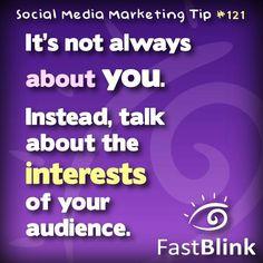 Social Media Marketing Tip #121