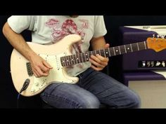 How To Play - Jimi Hendrix - Red House - Guitar Lesson - Part 2 - YouTube