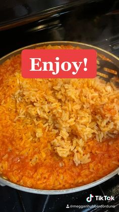 Mexican Rice Recipes, Easy Rice Recipes, Spanish Rice Recipes, Easy Spanish Rice Recipe, Side Dish Recipes, Authentic Spanish Rice Recipe, Spanish Food Recipes, Healthy Mexican Rice, Homemade Mexican Rice