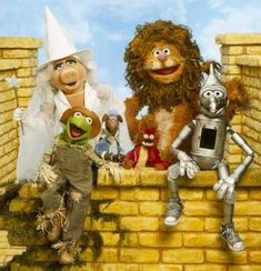 Muppets and The Wizard of Oz, what more can you want?