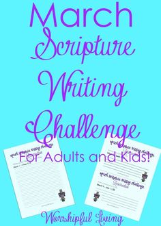 March Scripture Writing Challenge: The Resurrection of Jesus - Worshipful Living