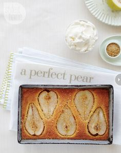 Pear & Almond Tart
