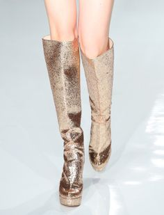 Chedel SS14, japanese fashion, japanese style, glitter shoes, glitter platform boots, platform heels