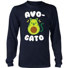 Avogato - Avocado Cat - Funny Avocado T-Shirts
