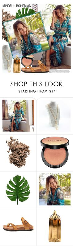 """MINDFUL BOHEMIAN"" by gaby-mil ❤ liked on Polyvore featuring Dolce&Gabbana, Sephora Collection and Thierry Mugler"