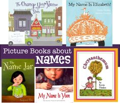 Picture books about names Kindergarten Orientation, Changing Your Name, Kindergarten Books, Name Activities, My Love Story, Cultural Identity, My Themes, Children's Literature, Read Aloud