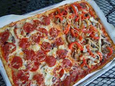 Gourmet Girl Cooks: Pizza with a Secret Ingredient in the Crust!